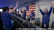 Marslandung NASA Perseverance Rover