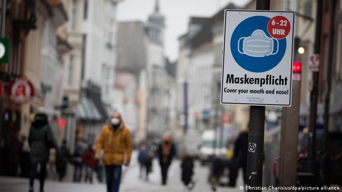 Atmosferă sumbră la Flensburg, Germania