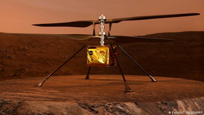 Mars'taki mini helikopter Ingenuity
