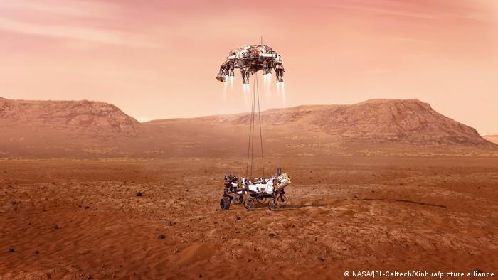 Посадка марсоходу Preserverance на Марсі