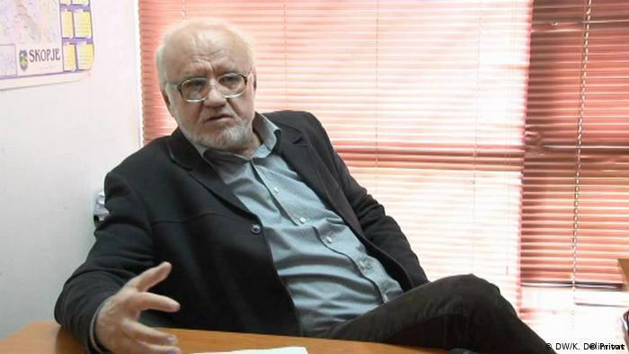 Nord-Mazedonien Skopje | Ilija Aceski - Soziologie Professor