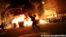 Weltspiegel 19.02.2021 | Spanien Barcelona |Rapper Pablo Hasel, Ausschreitungen nach Verhaftung
