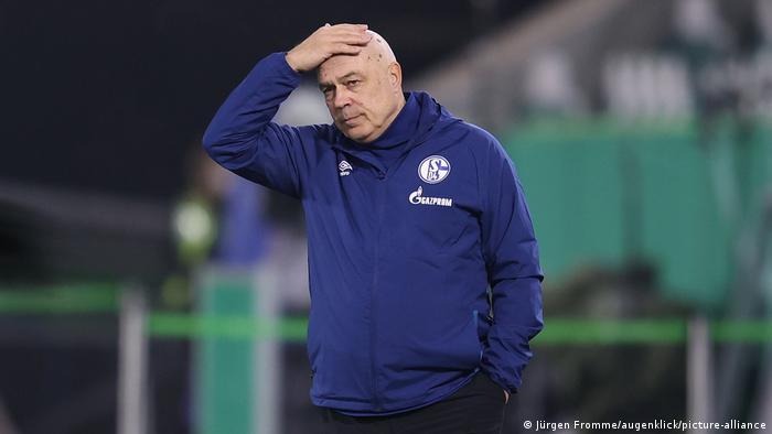 Schalke coach Christian Gross