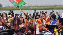 Myanmar | Proteste gegen Militärputsch auf dem Inle-See