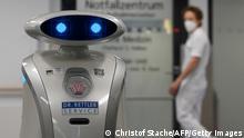 Deutschland München | Mopp-Roboter | Klinik Neuperlach