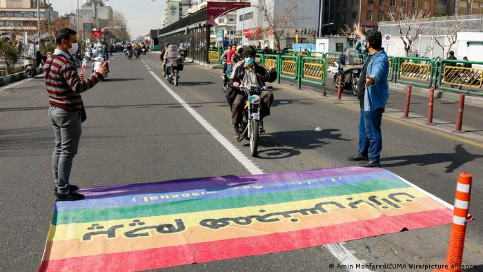 Iran LGBT l Rally in Teheran