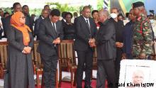 Tansania Dar es Salaam | Trauer um John William: Präsident John Magufuli leitet Trauerveranstaltung