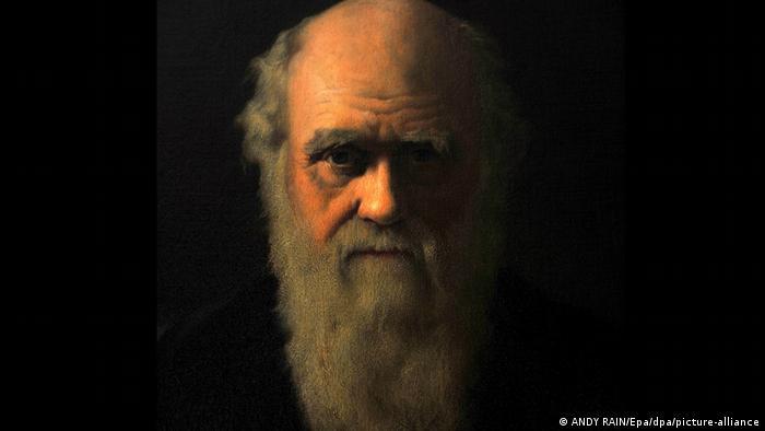 Painting of Charles Darwin