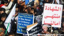مظاهرة في العراق ضد الولايات المتحدة