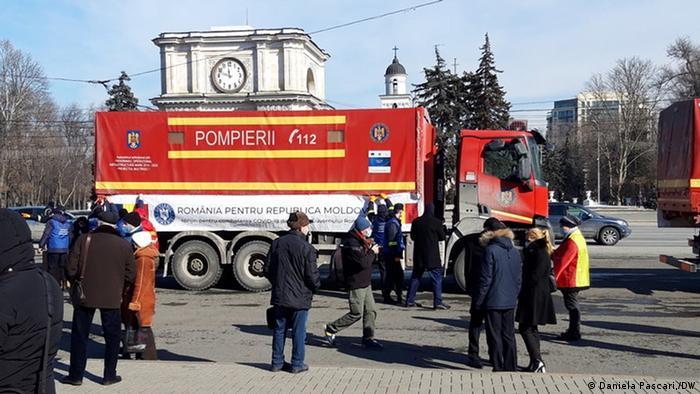 Ajutoarele au ajuns vineri la Chișinău