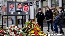 Deutschland Hanau | Gedenken an die Opfer des Attentat in Hanau