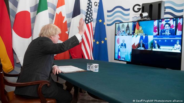Virtueller G7 Gipfel | Boris Johnson