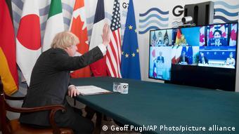 У Корнуоллі лідери Великої сімки вперше за два роки зустрічаються віч-на-віч