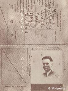 Фальшивый канадский паспорт Тито. С ним он вернулся из Москвы в Югославию