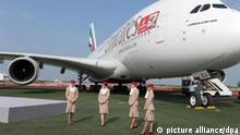 Airbus 380 auf der ILA