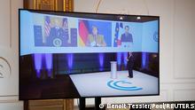Frankreich Paris | Münchner Sicherheitskonferenz | Videokonferenz