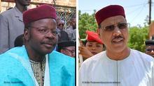 Bildkombo I Präsidentschaftswahlen in Niger qualifiziert haben: Mohamed Bazoum und Mahamane Ousmane