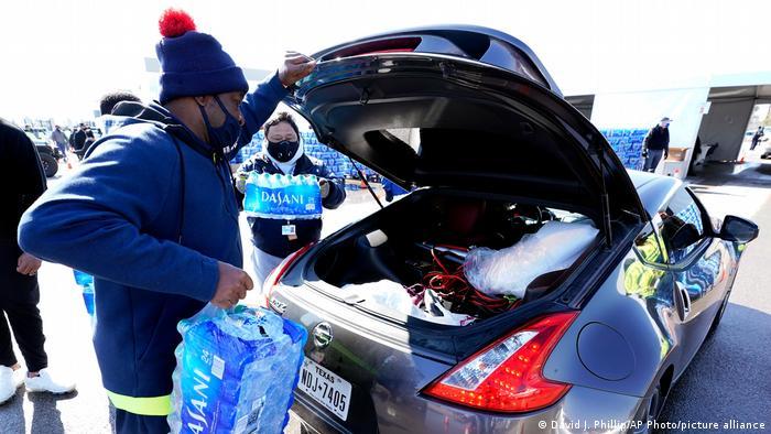 USA Kältewelle Trinkwasser