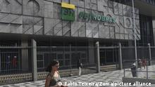 Brasilien Rio de Janeiro Petrobas Firmensitz