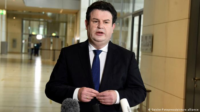 Berlin Arbeitsminister Hubertus Heil