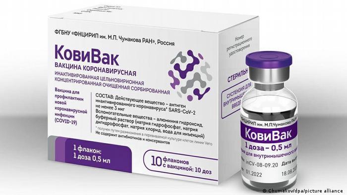 Russland CoviVac Coronavirus Impfstoff