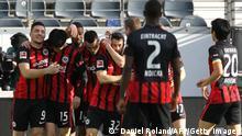 Fußball: Bundesliga 2021 I Eintracht Frankfurt - Bayern München
