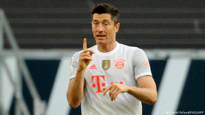 Robert Lewandowski is the Bundesliga's top scorer