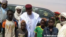Mohamed Bazoum, Kandidat der Regierungspartei in Niger. Copyrigt: Aboubacar Magagi, offizieller Fotograf von Mohamed Bazoum. Die Fotos können von der gesamten Deutschen Welle verwendet werden.
