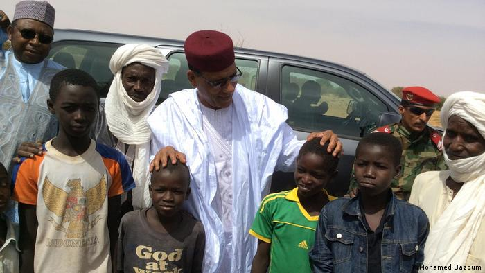 Niger Mohamed Pasoom Presidential Candidate