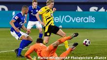 Fußball Bundesliga | Schalke 04 vs Borussia Dortmund | Tor 0:4 Haaland