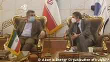 Iran I Teheran I Behrouz Kamalvandi und Rafael Mariano Grossi