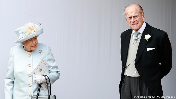 Königin Elizabeth und Prinz Philip (02.10.2018)