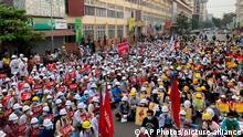 Myanmar Rangun | Proteste gegen die Militärregierung