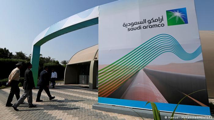 Saudi-Arabien Dharan | Saudi Aramco Logo in Dharan