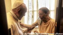 Papst Franziskus | Treffen mit Edith Bruck