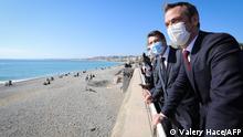 Frankreich | Coronavirus-Pandemie | Nizza fordert Wochenend-Lockdown gegen Touristenandrang