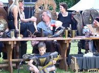 Орда из  Дюннвальда: во главе стола вождь Денжизык