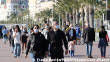 Nice kenti Fransa'nın önemli turistik bölgelerinden biri