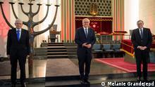 Steinmeier fordert entschiedenes Eintreten gegen Antisemitismus