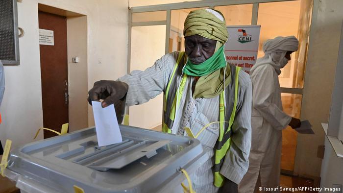 Niger  Präsidentschaftswahlen in Niamey