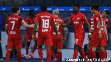 Fußball: Bundesliga 2021 I Hertha BSC - RB Leipzig