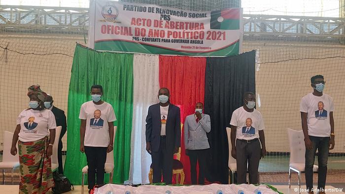 Präsidium der Partei PRS in Angola