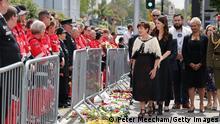 Neuseeland Christchurch |10. Jahrestag Erdbeben |Jacinda Ardern, Premierministerin