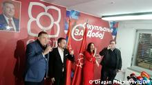 Bosnien und Herzegowina |Dodik & Jerinic & Petrovic, Politiker der SNSD