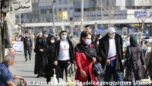 16.02.21 *** Iran Teheran | Coronavirus | Passanten