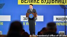 Ukraine Kiew | Wolodymyr Selenskyj zu Infrastruktur
