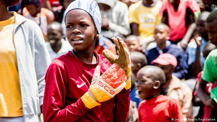Kenia Dandora | Kinder beim Johanna Omolo Cup I-IV