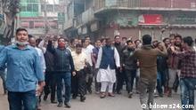Abdul Quader Mirza, an Awami League leader of Noakhali's Basurhat. Keywords: Copyright: bdnews24.com