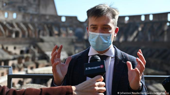 Italien Rom  Gabriel Zuchtriegel, neuer Museumsdirektor in Pompeji
