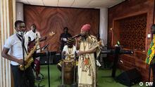 Februar 2021+++Ghanaian musician Blakk Rasta cites reggae legends like Bob Marley and Alpha Blondy as his main influences. But he's also carved his own musical niche. He blends Jamaican reggae with local African languages and sounds.